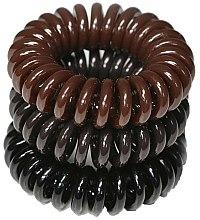Parfums et Produits cosmétiques Lot de 3 élastiques à cheveux 3,5 cm - Ronney Professional S13 MAT