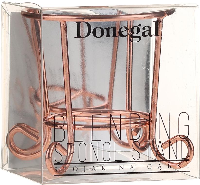 Support éponge de maquillage, 4497, doré - Donegal