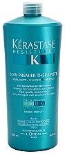 Soin restrucuturant aux protéines de blé pour cheveux très abîmés - Kerastase Resistance Soin Premier Therapiste — Photo N2