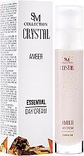 Parfums et Produits cosmétiques Crème de jour à la poudre d'ambre et huile de jojoba - SM Collection Crystal Amber Day Cream