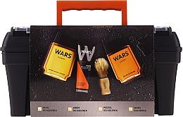 Parfums et Produits cosmétiques Wars - Set (ash/lot/90ml + sh/cr/65ml + edc/90ml + sh/brush)