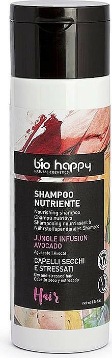 Shampooing à l'huile d'avocat - Bio Happy Jungle Infusion Shampoo — Photo N1