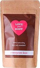 Parfums et Produits cosmétiques Gommage au café 100% naturel pour corps Café aromatique - Love Your Body Peeling