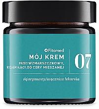 Parfums et Produits cosmétiques Crème à l'huile d'argan et acide hyaluronique pour visage - Fitomed Face Cream №7