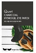 Parfums et Produits cosmétiques Patchs pour contour des yeux - Quret Charcoal Hydrogel Eye Patch