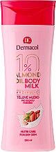 Parfums et Produits cosmétiques Lait à l'huile d'amande et panthénol pour corps - Dermacol Almond Oil Nourishing Body Milk