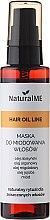 Parfums et Produits cosmétiques Masque au miel et huile de jojoba pour cheveux - NaturalME Hair Oil Line