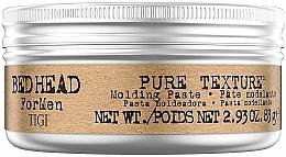 Parfums et Produits cosmétiques Pâte coiffante - Tigi Bed Head Men Pure Texture