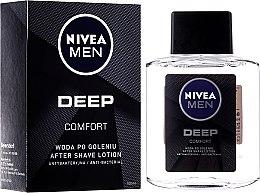 Parfums et Produits cosmétiques Lotion après-rasage antibactérienne - Nivea Men Deep Comfort After Shave lotion