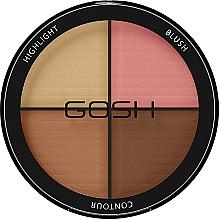 Parfums et Produits cosmétiques Palette contouring visage - Gosh Contour Strobe Kit