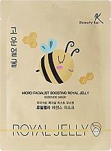 Parfums et Produits cosmétiques Masque tissu à la gelée royale pour visage - Beauty Kei Micro Facialist Boosting Royal Jelly Essence Mask