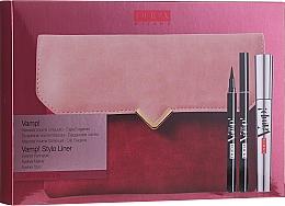 Parfums et Produits cosmétiques Coffret cadeau - Pupa Vamp! Vamp! Stylo Liner (mascara/9ml + eye/liner/1.5ml + bag)