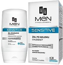 Parfums et Produits cosmétiques Gel après-rasage à l'extrait d'aloe vera et menthol - AA Men Sensitive After-Shave Gel Cooling