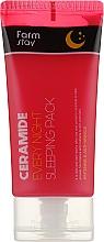 Parfums et Produits cosmétiques Masque de nuit aux céramides - FarmStay Ceramide Every Night Sleeping Pack