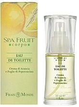Parfums et Produits cosmétiques Frais Monde Spa Fruit Orange And Chilli Leaves - Eau de Toilette
