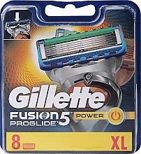 Parfums et Produits cosmétiques Lames de rechange pour rasoir, 8 pcs - Gillette Fusion ProGlide Power