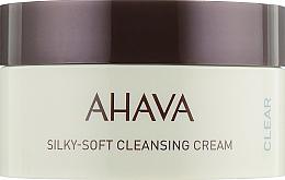 Parfums et Produits cosmétiques Crème nettoyante à l'huile de coco pour visage - Ahava Time to Clear Ahava Silky Soft Cleansing Cream