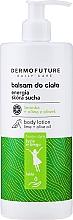 Parfums et Produits cosmétiques Lotion à l'huile d'olive et lime pour corps - Dermofuture Daily Care Body Lotion Energy Lime + Olive Oil