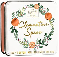 Parfums et Produits cosmétiques Savon en boîte métallique Épice de clémentine - Scottish Fine Soaps Clementine Spice Soap
