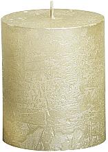 Parfums et Produits cosmétiques Bougie cylindrique, ivoire, 80/68 mm - Bolsius Candle