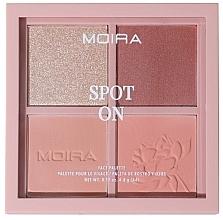 Parfums et Produits cosmétiques Palette de maquillage pour visage - Moira Spot On Face Palette