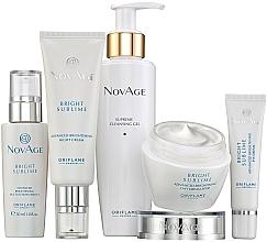 Parfums et Produits cosmétiques Oriflame NovAge Bright Sublime - Coffret visage (gel nettoyant/200ml+crème contour des yeux/15ml+sérum/30ml+crème de jour/50ml+crème de nuit/50ml)