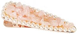 Parfums et Produits cosmétiques Barrette à cheveux Quartz rose - Crystallove Rose Quartz Hair Clip