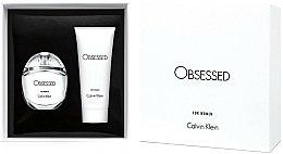 Parfums et Produits cosmétiques Calvin Klein Obsessed For Women - Coffret (eau de parfum/50ml + lotion pour le corps/100ml)