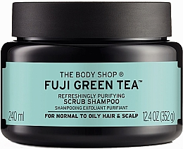 Parfums et Produits cosmétiques Shampooing exfoliant au thé vert - The Body Shop Fuji Green Tea Cleansing Hair Scrub