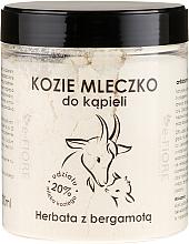 Parfums et Produits cosmétiques Lait de chèvre pour le bain, Thé à la bergamote - E-Fiore Bergamot Bath Milk