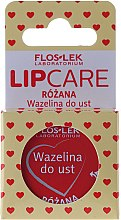 Parfums et Produits cosmétiques Vaseline à la rose pour lèvres - Floslek Lip Care Cosmetic Lip Vaseline Rose