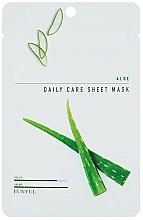 Parfums et Produits cosmétiques Masque tissu à l'extrait d'aloe vera pour visage - Eunyul Daily Care Mask Sheet Aloe