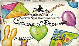 Parfums et Produits cosmétiques Savon végétal pour enfants, Abricot - Florinda Sapone Apricot