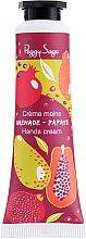 Parfums et Produits cosmétiques Crème parfumée à la grenade et papaye pour mains - Peggy Sage Grenade Papaye Hands Cream