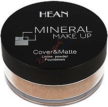 Parfums et Produits cosmétiques Fond de teint en poudre libre matifiant - Hean Mineral Make Up Cover&Matte Loose Mineral Powder