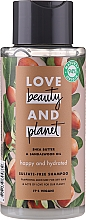 Parfums et Produits cosmétiques Shampooing, Beurre de karité et bois de santal - Love Beauty&Planet Shea Butter & Sandalwood