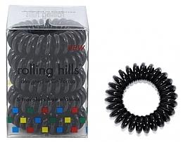 Parfums et Produits cosmétiques Élastiques à cheveux, noir - Rolling Hills 5 Traceless Hair Rings
