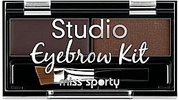 Parfums et Produits cosmétiques Palette sourcils - Miss Sporty Studio Eyebrow Kit