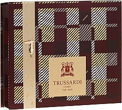 Parfums et Produits cosmétiques Trussardi Uomo The Red - Coffret (eau de toilette/50ml + gel douche et shampooing/100ml)