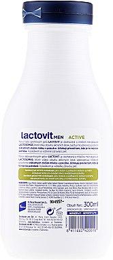 Gel douche 3 en 1 pour homme - Lactovit Men Active 3v1 Shower Gel — Photo N2