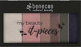 Parfums et Produits cosmétiques Palette de fard à paupières (recharge remplaçable) - Benecos It-Pieces Pretty Cold Palette Refill