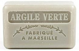 Parfums et Produits cosmétiques Savon végétal de Marseille, Argile verte - Foufour Savonnette Marseillaise Argile Verte