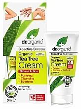 Parfums et Produits cosmétiques Crème à l'huile d'arbre à thé pour corps - Dr. Organic Bioactive Skincare Tea Tree Cream