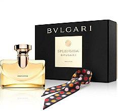 Parfums et Produits cosmétiques Bvlgari Splendida Iris D`Or - Coffret (eau de parfum/100ml + écharpe)