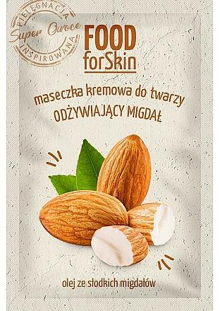 Masque à l'huile d'amande douce pour visage - Marion Food for Skin Cream Mask Nourishing Almond
