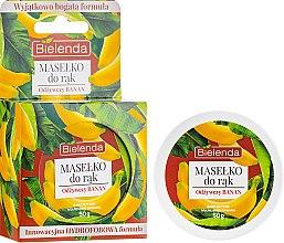 Parfums et Produits cosmétiques Beurre pour les mains Banane nourrissante - Bielenda Hand Butter Nourishing Banana
