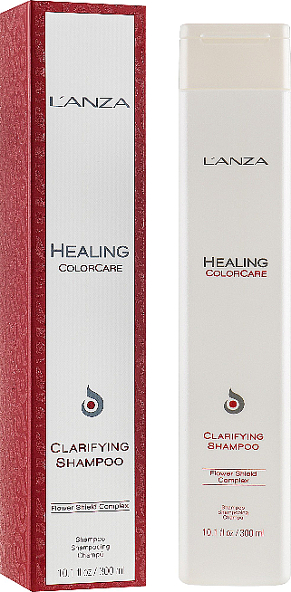 Shampooing à l'extrait de romarin - L'Anza Healing ColorCare Clarifying Shampoo