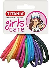 Parfums et Produits cosmétiques Élastiques à cheveux, 20 pcs, multicolore - Titania Girls Care