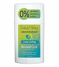 Parfums et Produits cosmétiques Déodorant stick - Indus Valley Wicked Cool Deodorant Stick