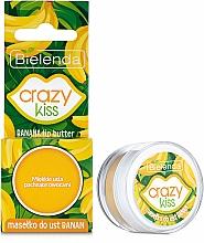 Parfums et Produits cosmétiques Beurre à la banane pour lèvres - Bielenda Crazy Kiss Banana Lip Butter